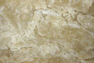 Pergamentartige Oberfläche